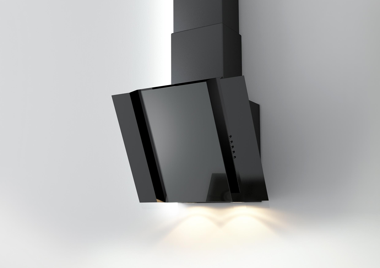 Наклонная вытяжка с подсветкой
