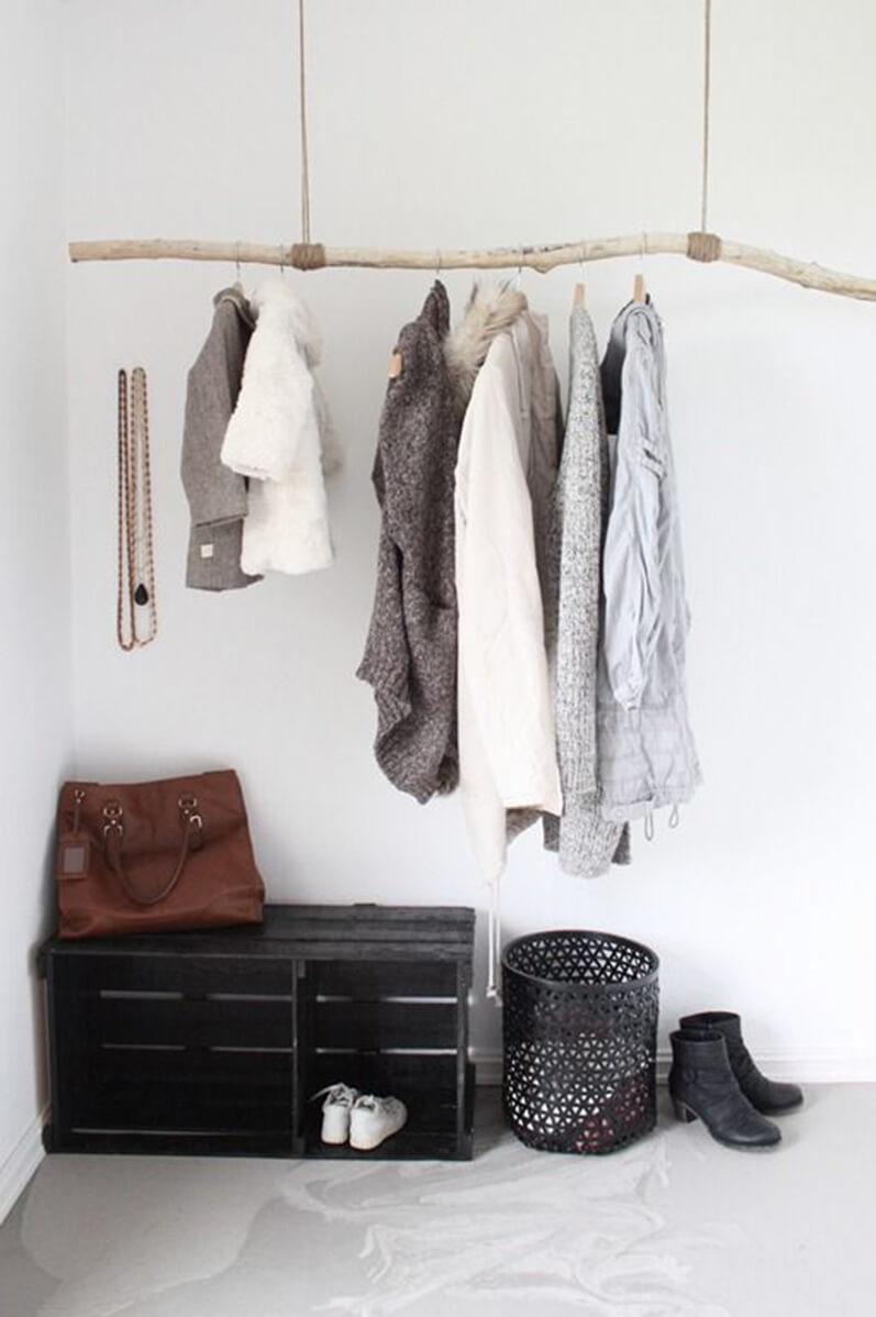 Подвесная вешалка для одежды