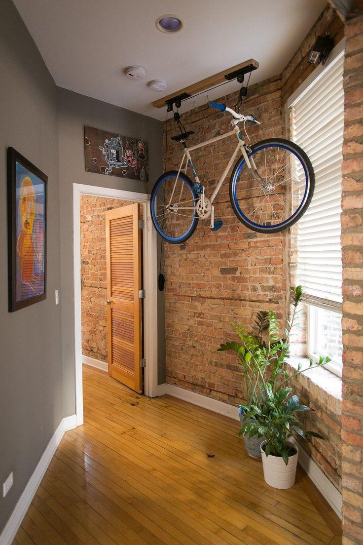 Подвесная конструкция для велосипеда