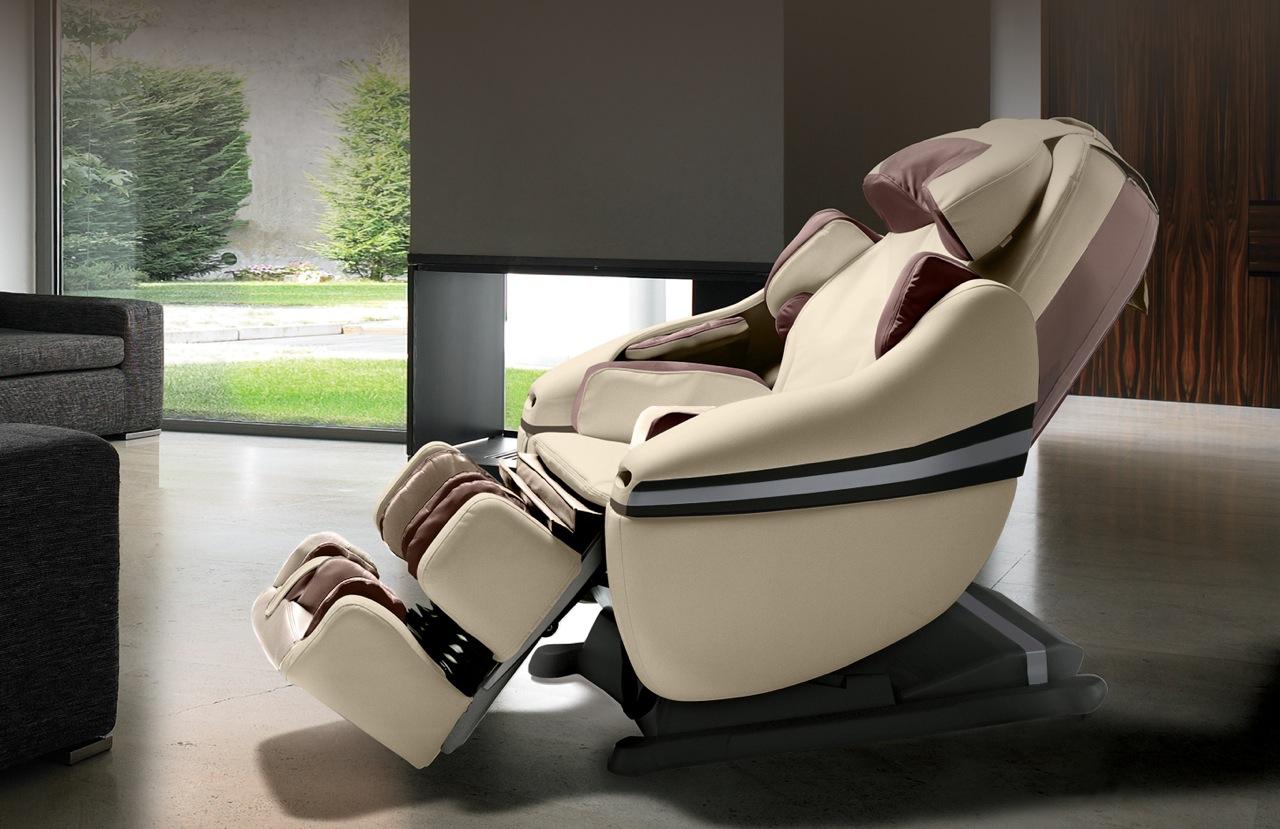 Массажное кресло с прогревом