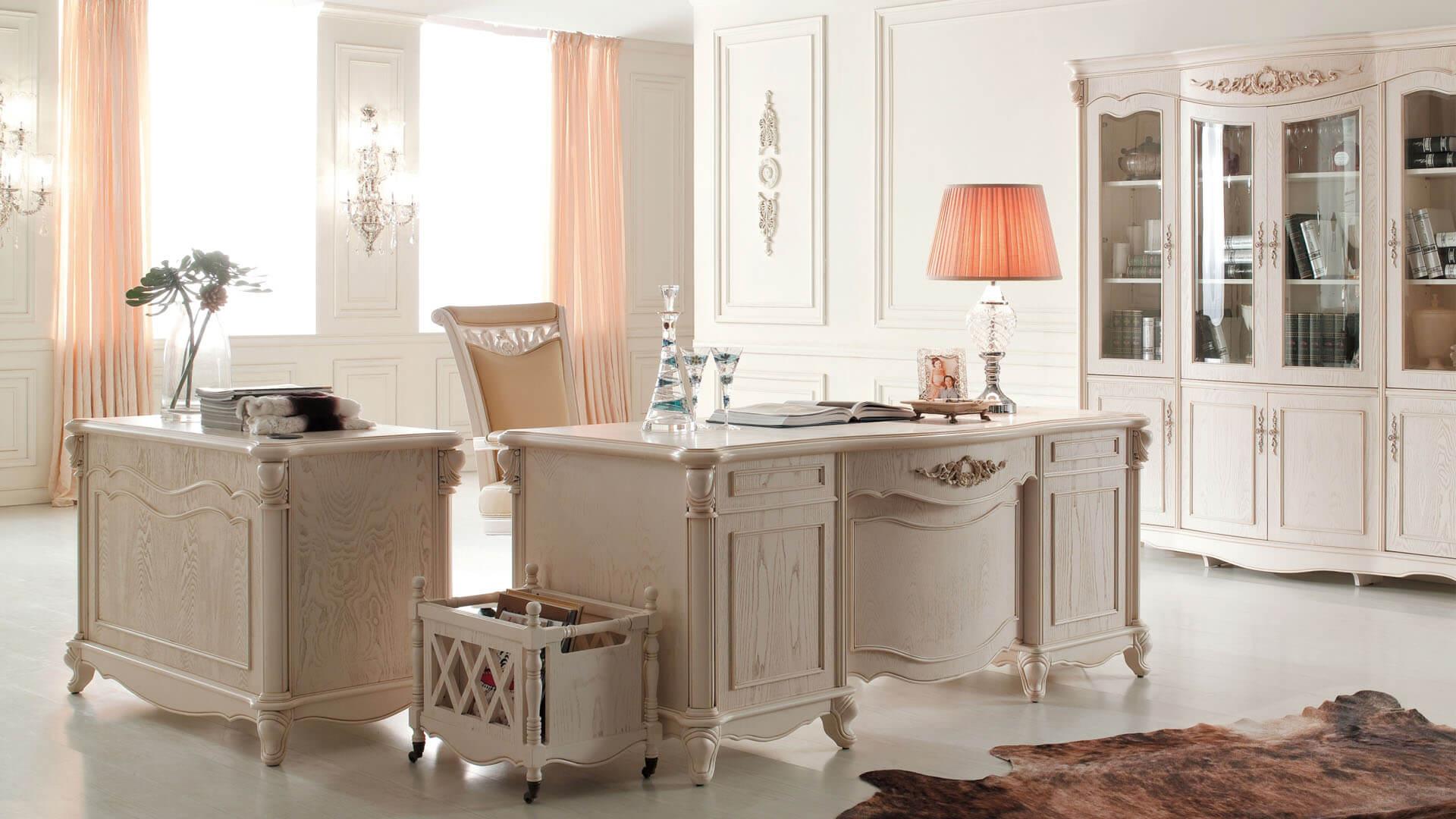 Мебель для кабинета в стиле прованс