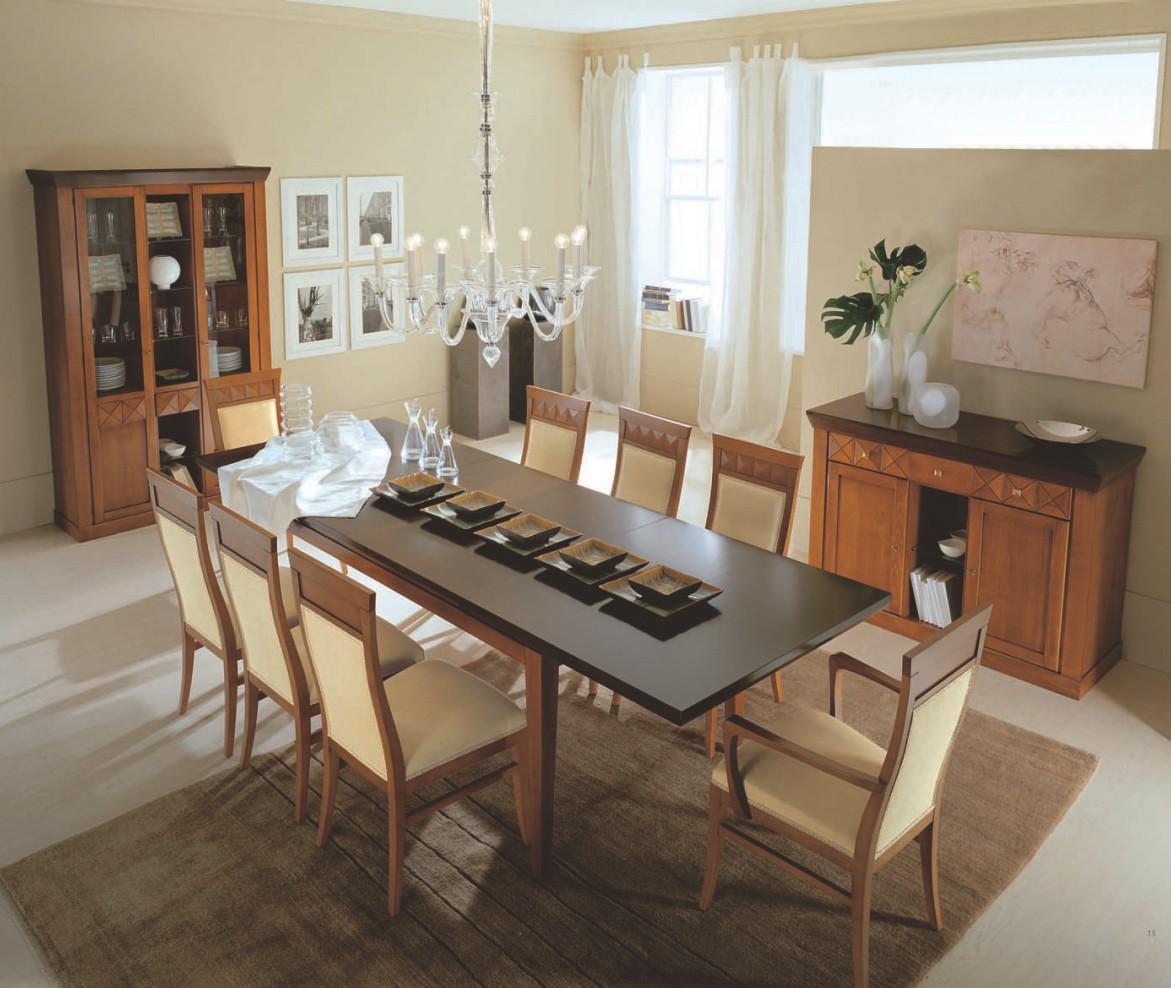 Столовый гарнитур с прямоугольным столом