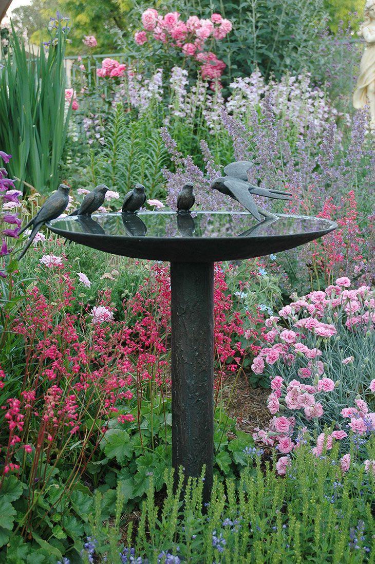 Декоративные птицы для сада