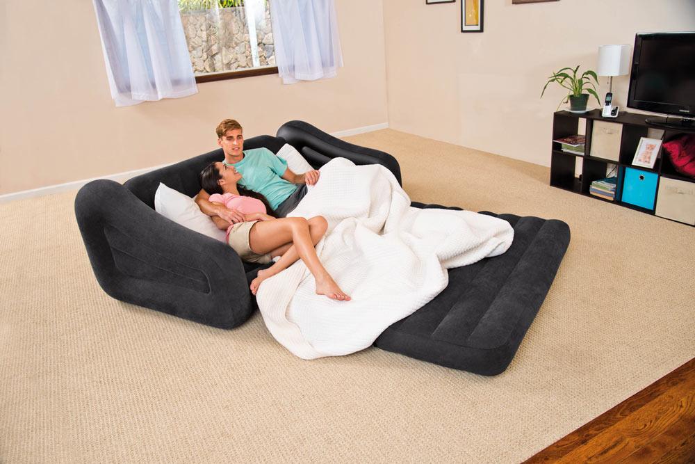 Раскладной надувной диван