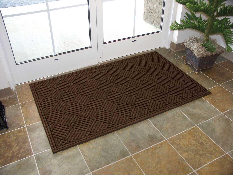 Резиновый придверный коврик