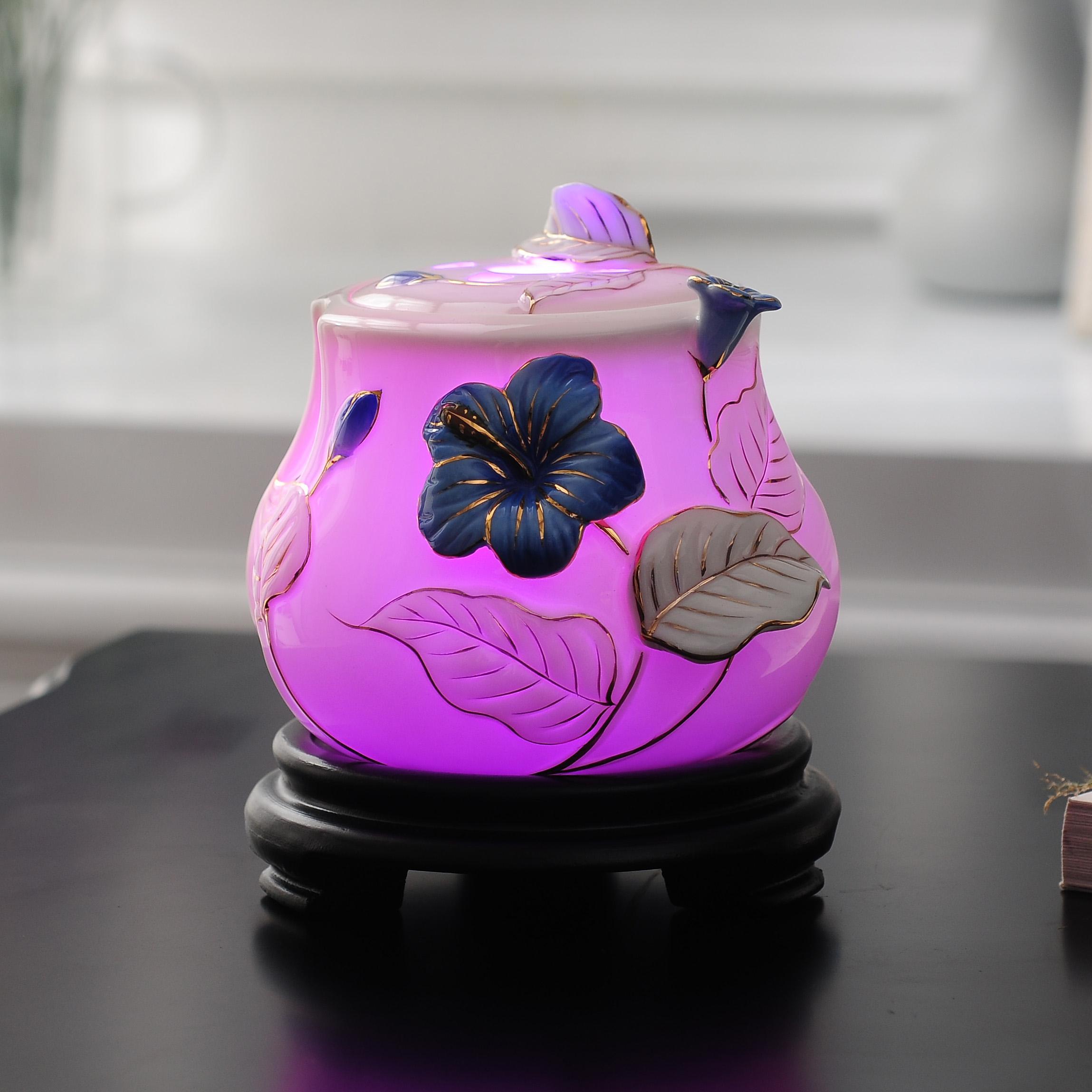 Светодиодный ночник с цветочным декором