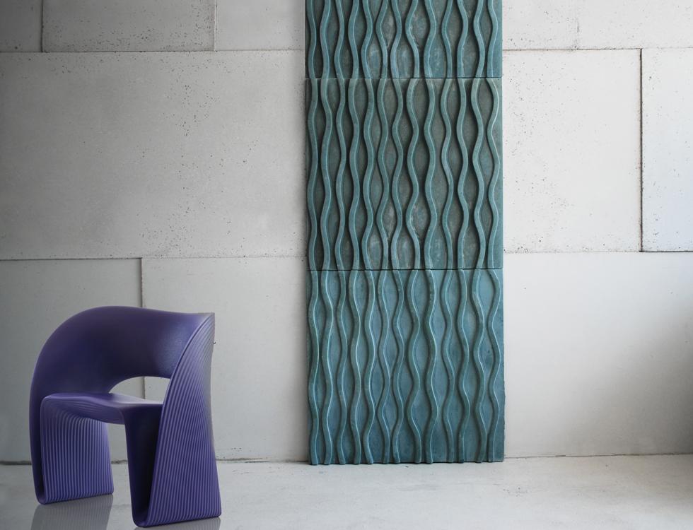 Мягкие стеновые панели с узором