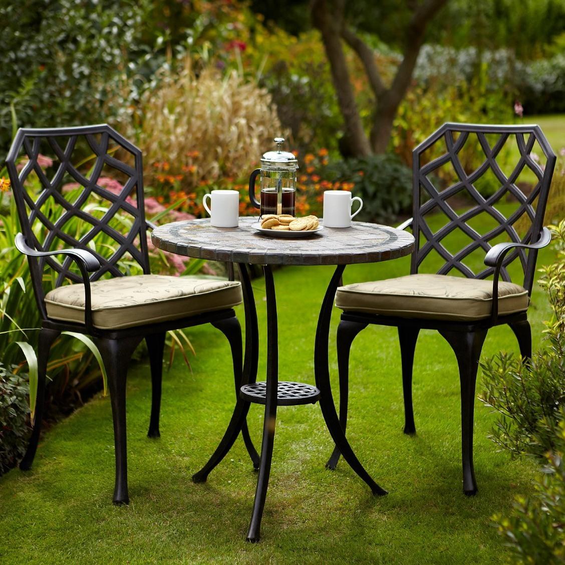 Садовые стулья с мягкими сидушками