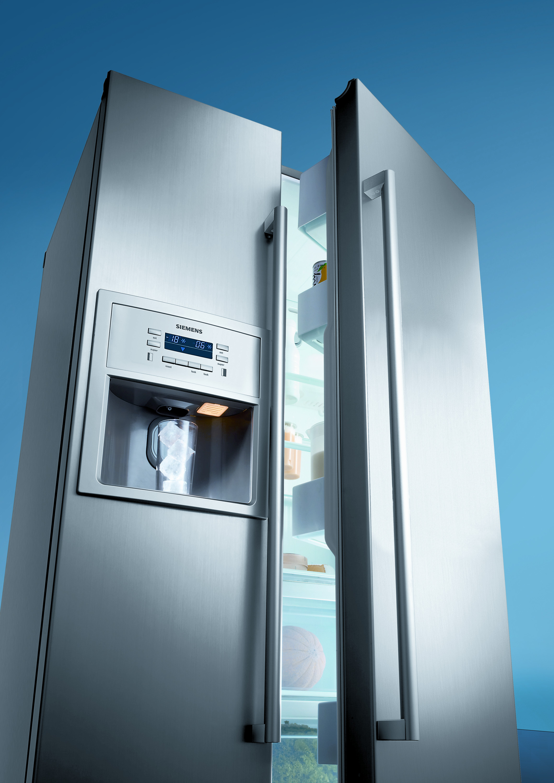 Двухдверный холодильник Siemens