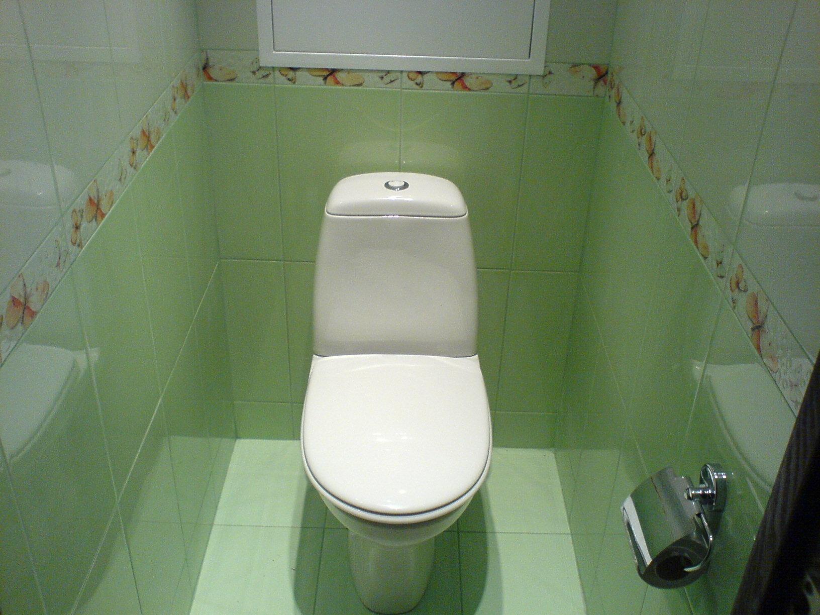 Скрытые трубы в туалете