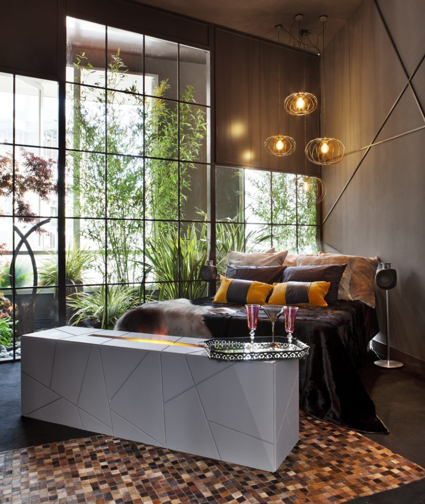 Расстановка мебели в спальне современной