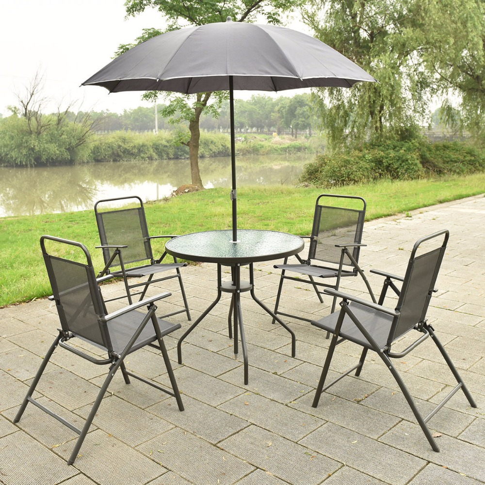 Стальные садовые стулья