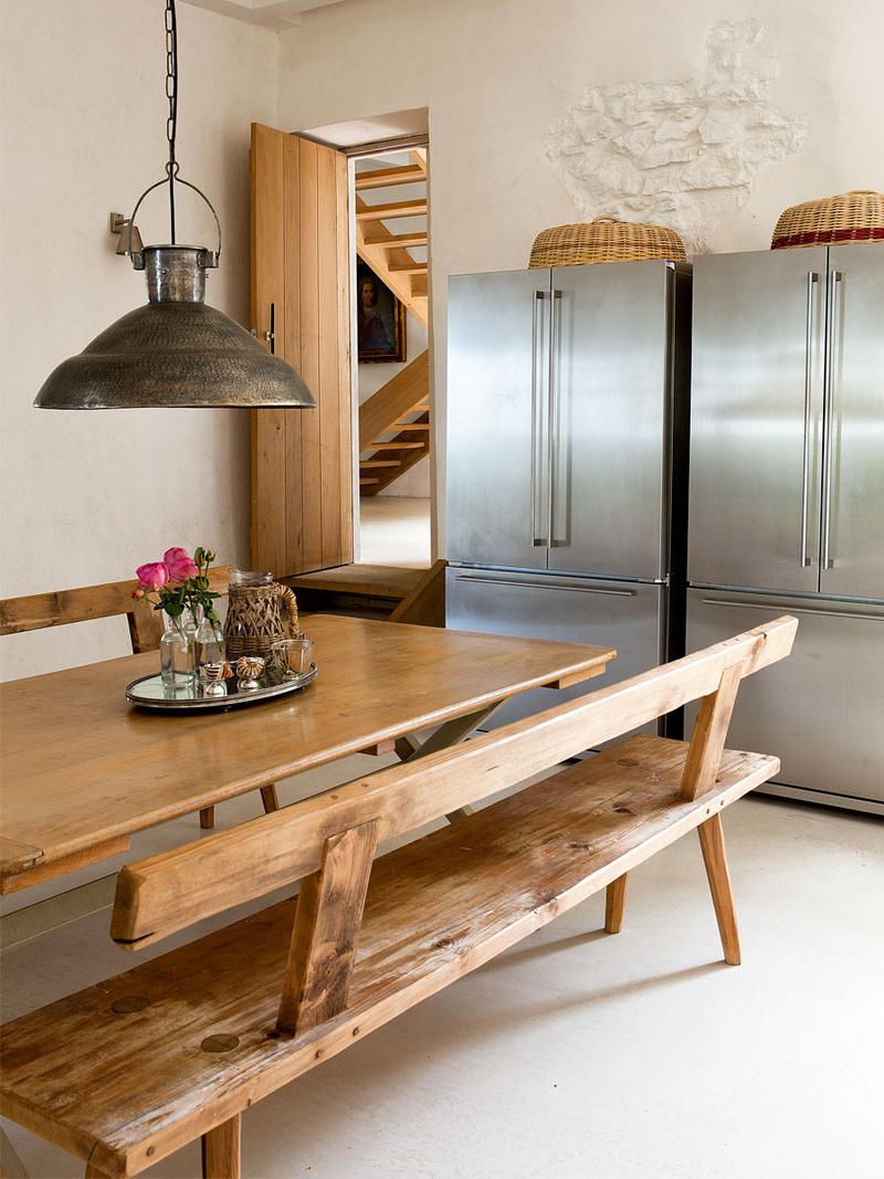 Кухня-столовая без подвесных шкафов