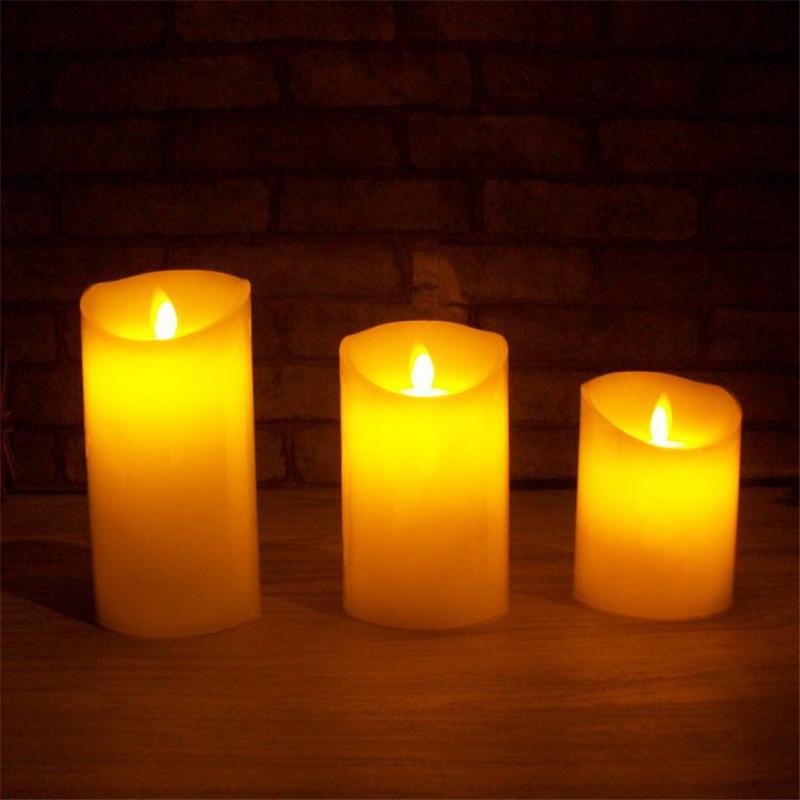 Светодиодный ночник в виде свечей