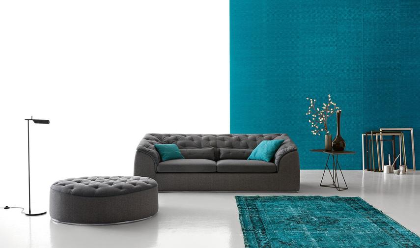 Обивка дивана текстилем