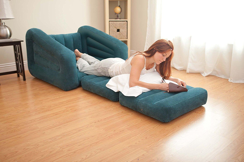 Надувное кресло-трансформер для квартиры