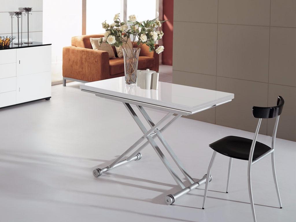 Глянцевый стол-трансформер