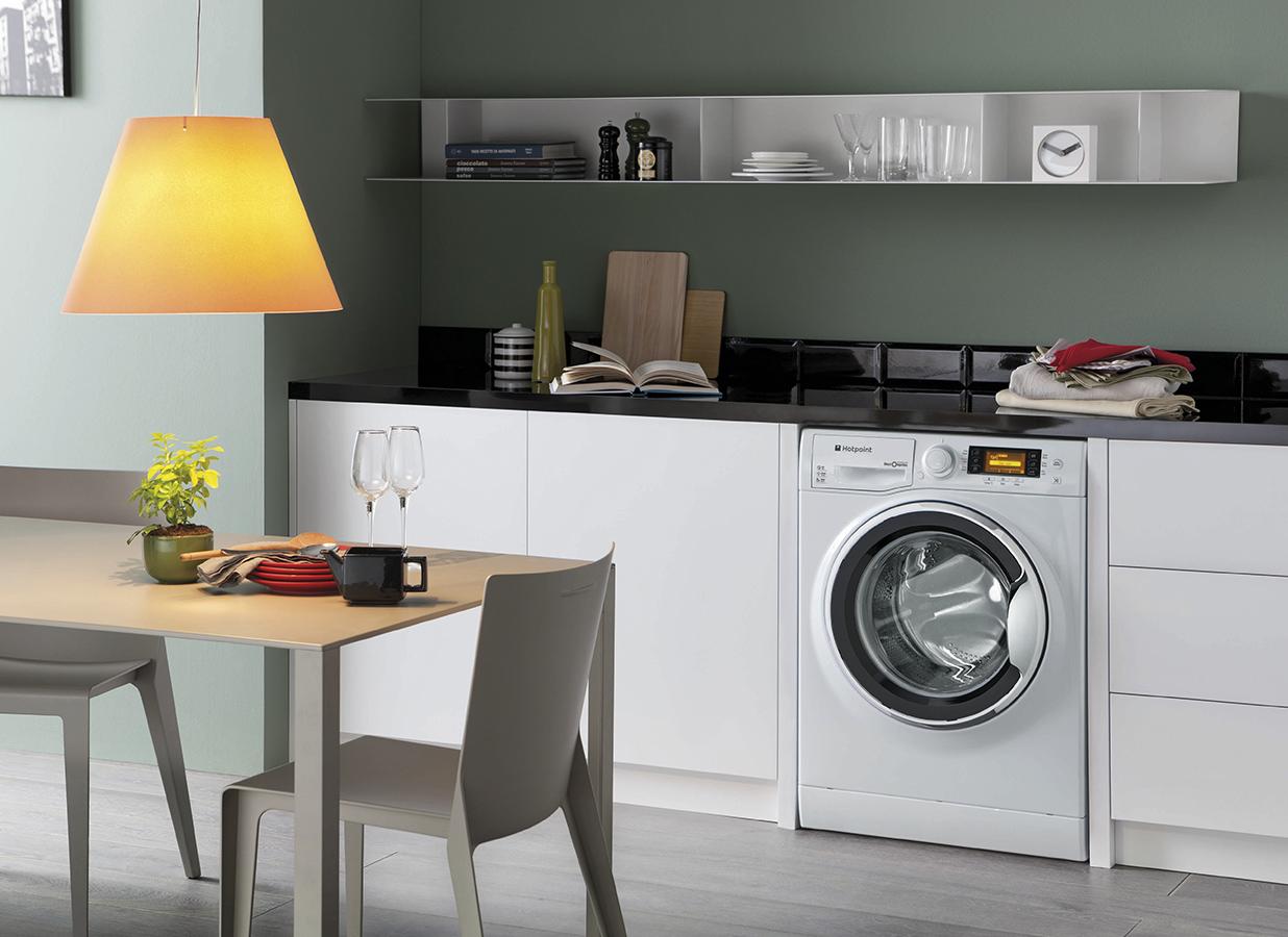 Что стоит знать об установке стиральной машины на кухне? (50 фото)
