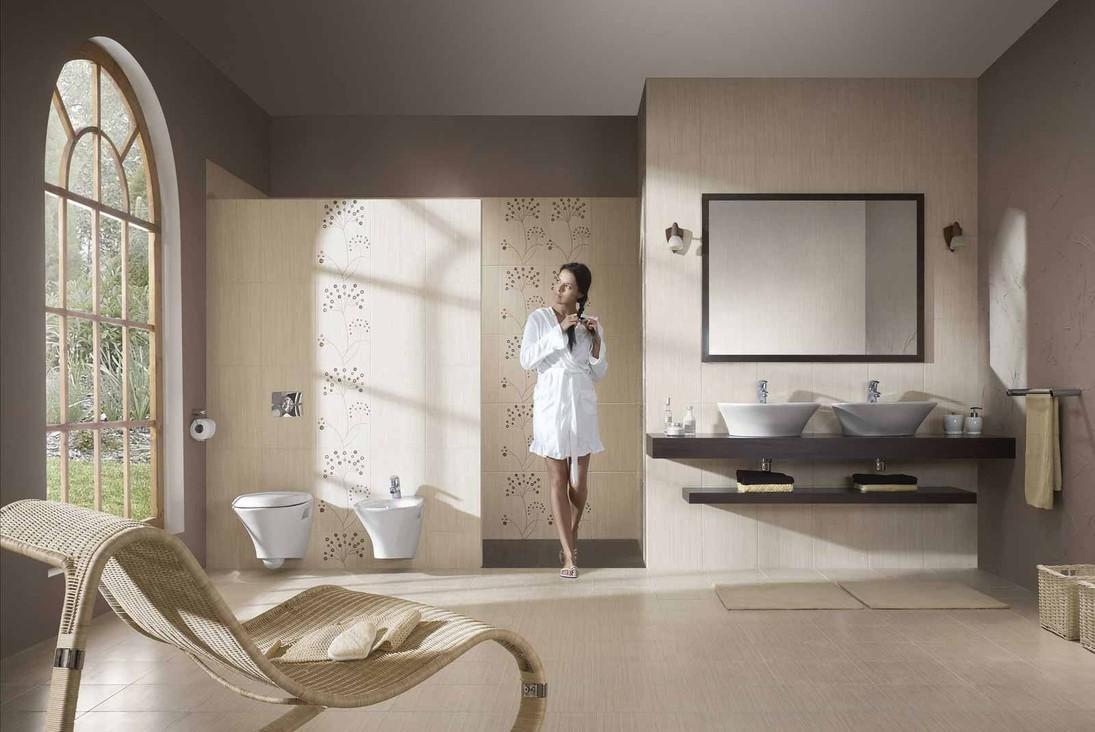 Водяной теплый пол в ванной