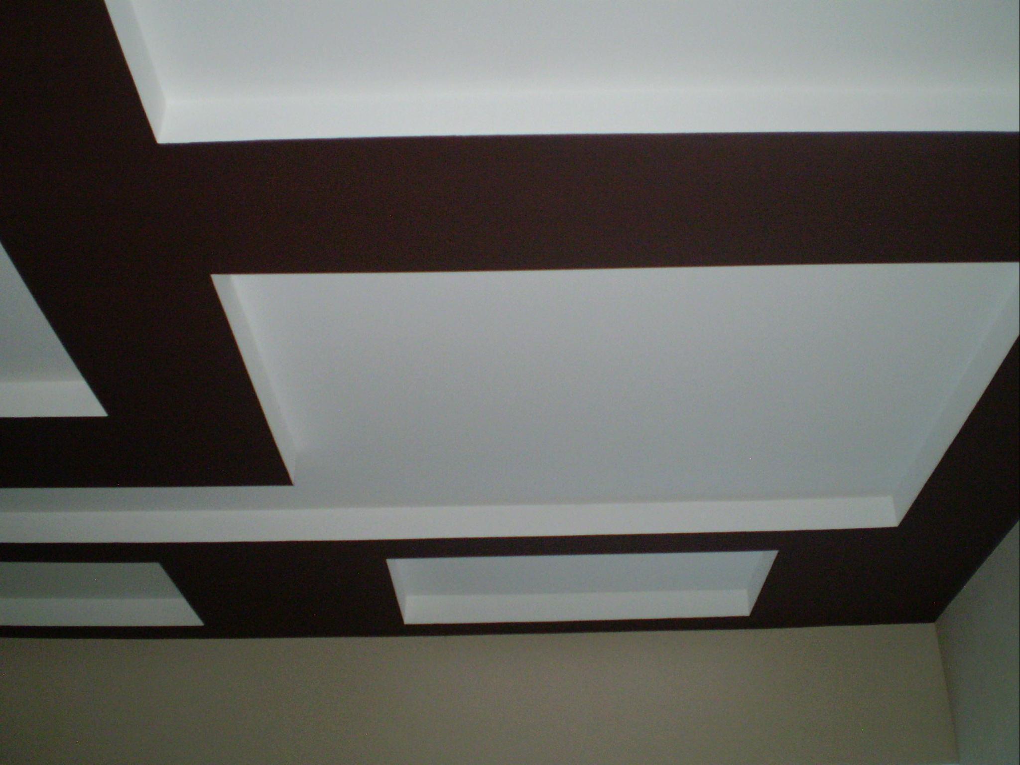Побеленный потолок в ванной комнате