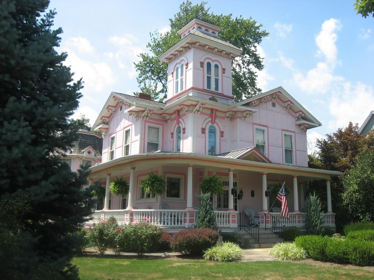 Викторианская архитектура загородного дома