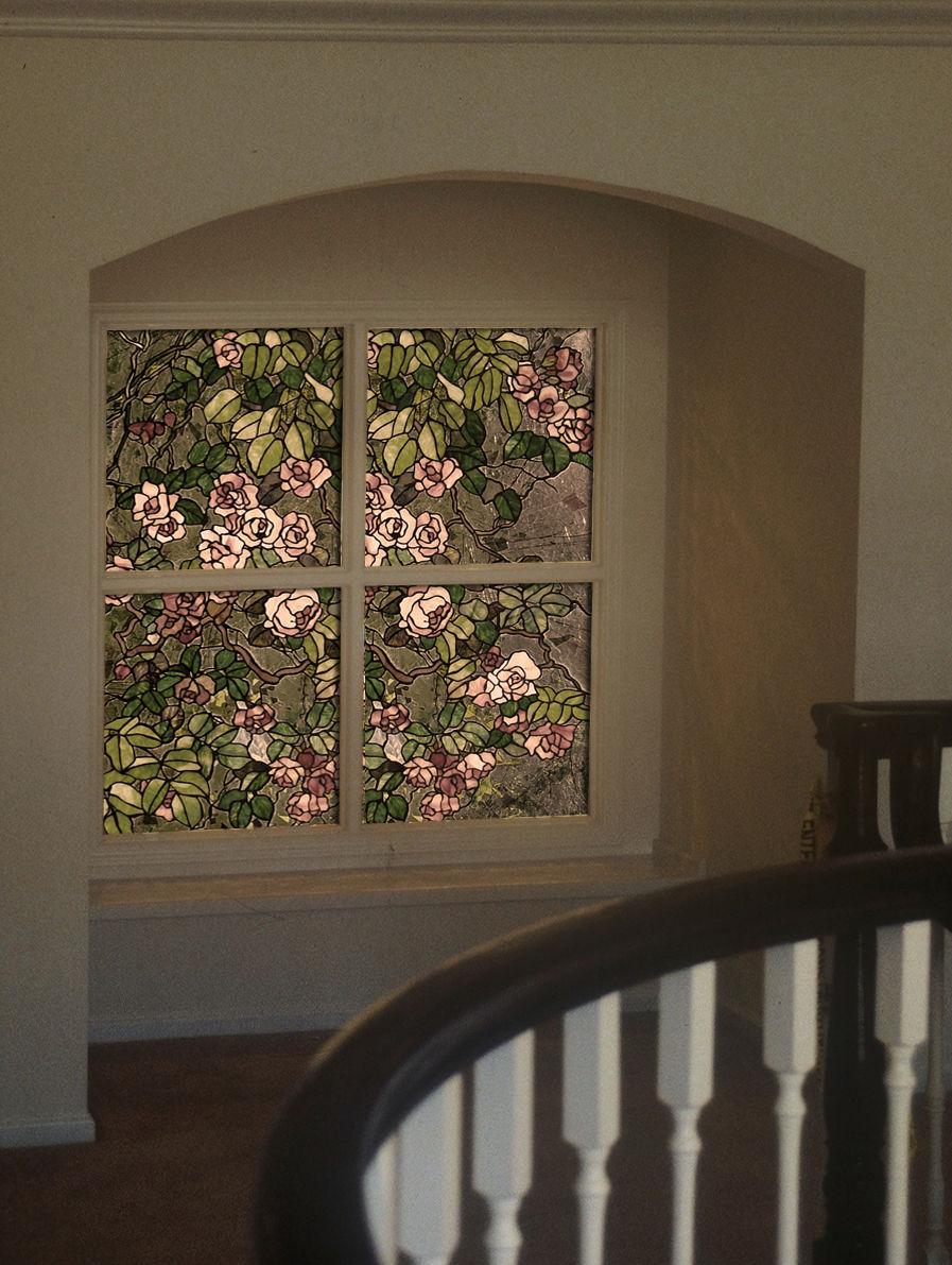 Подсветка витражного окна