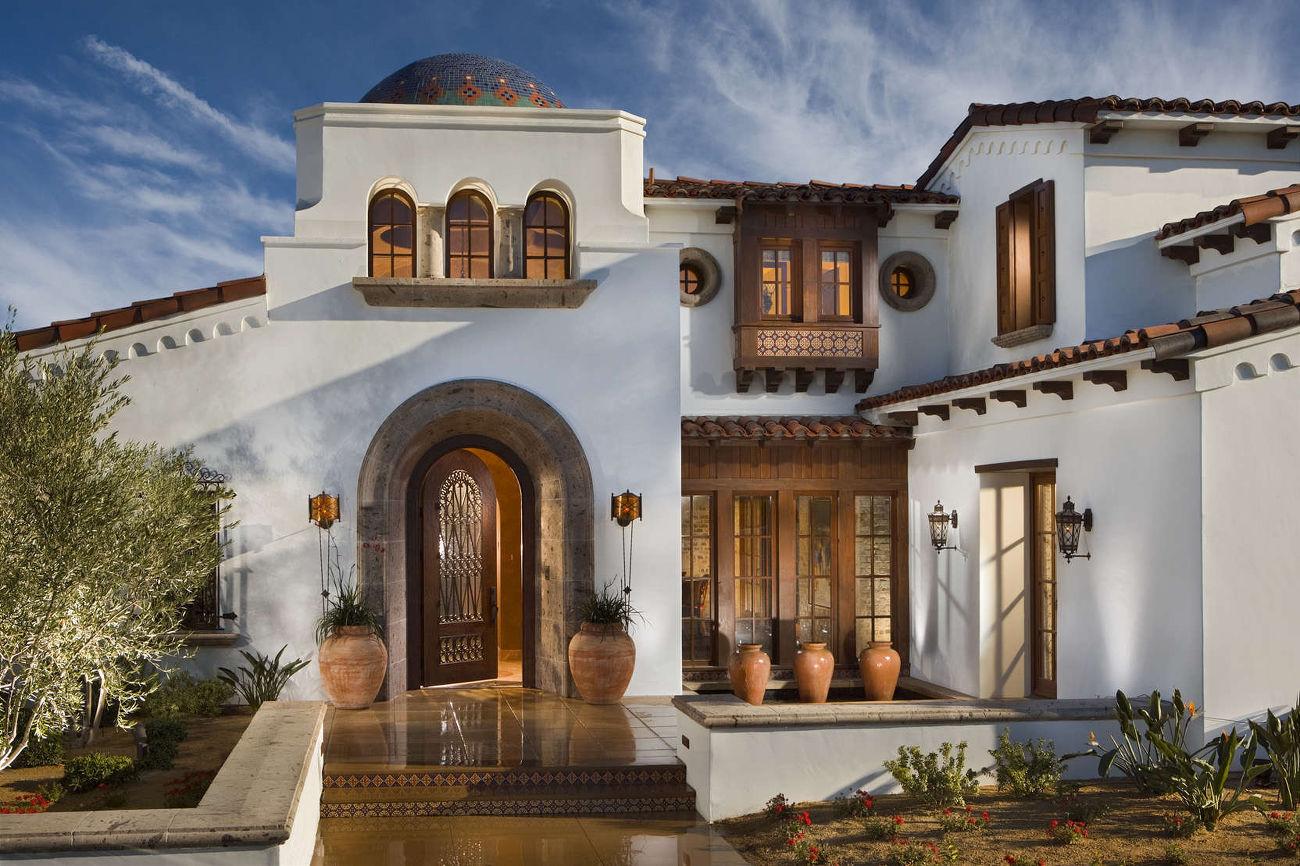 Дом в восточном стиле