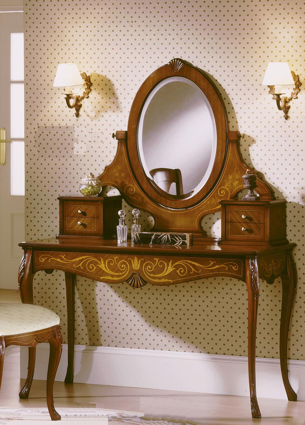 Стол-бюро с зеркалом