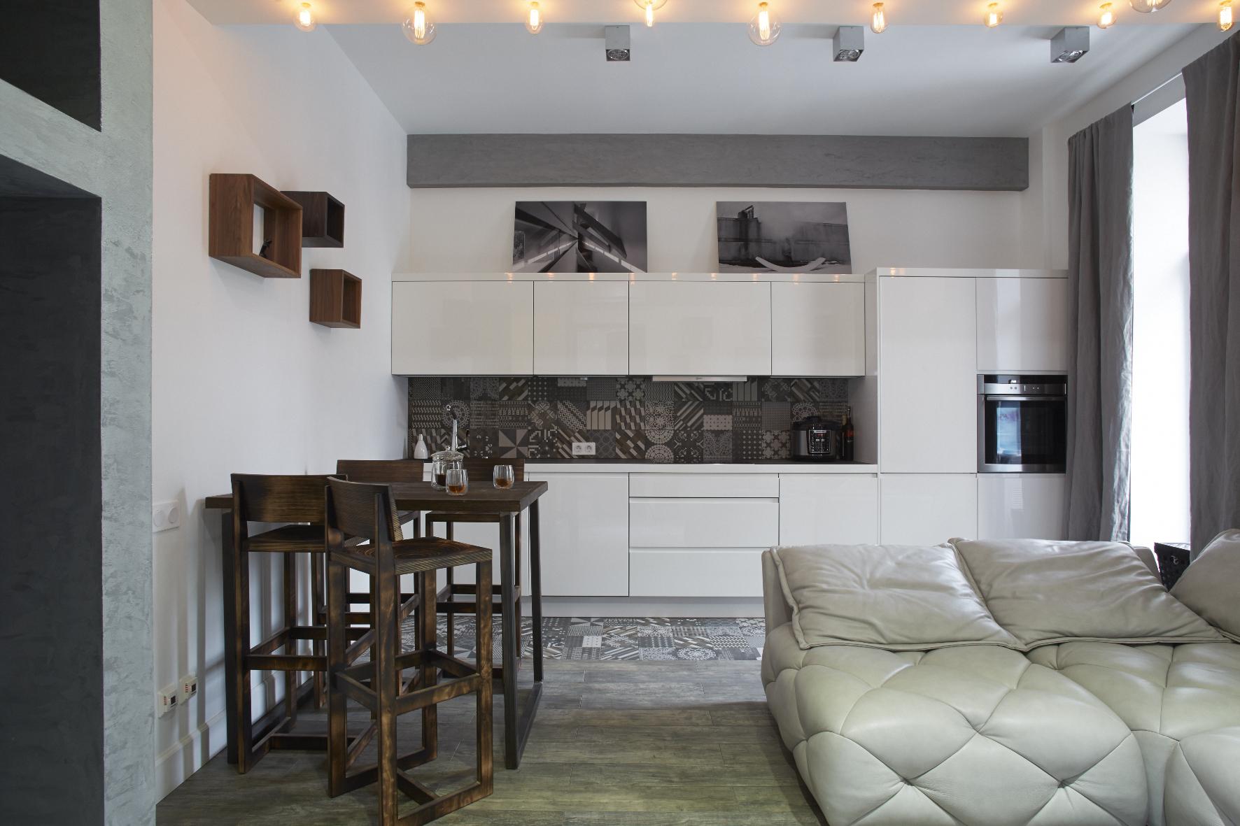 Апартаменты для молодой семейной пары