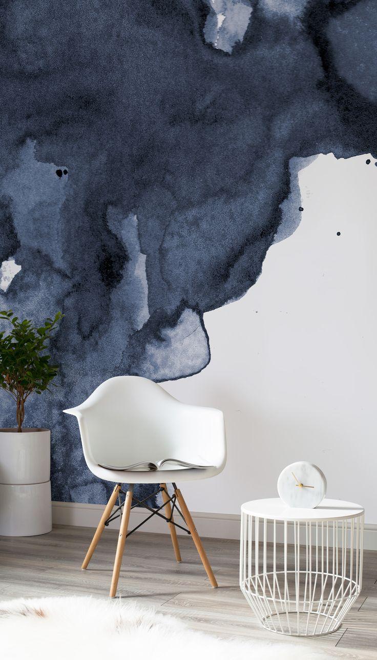 Абстрактные рисунки на стене