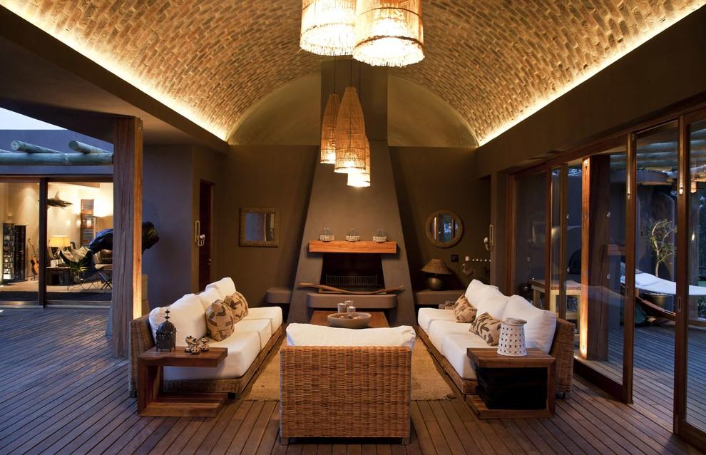 Потолок со светодиодной подсветкой арочный