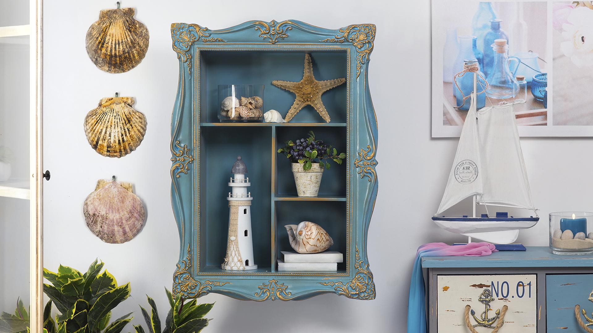 Морская атрибутика в декоре квартиры