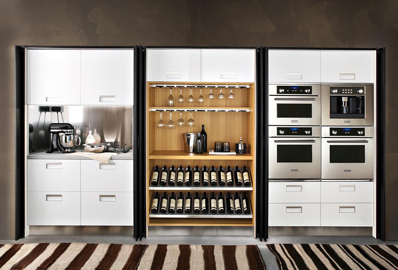 Шкаф для вина с баром