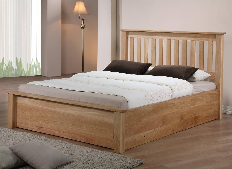 Кровать из массива березы