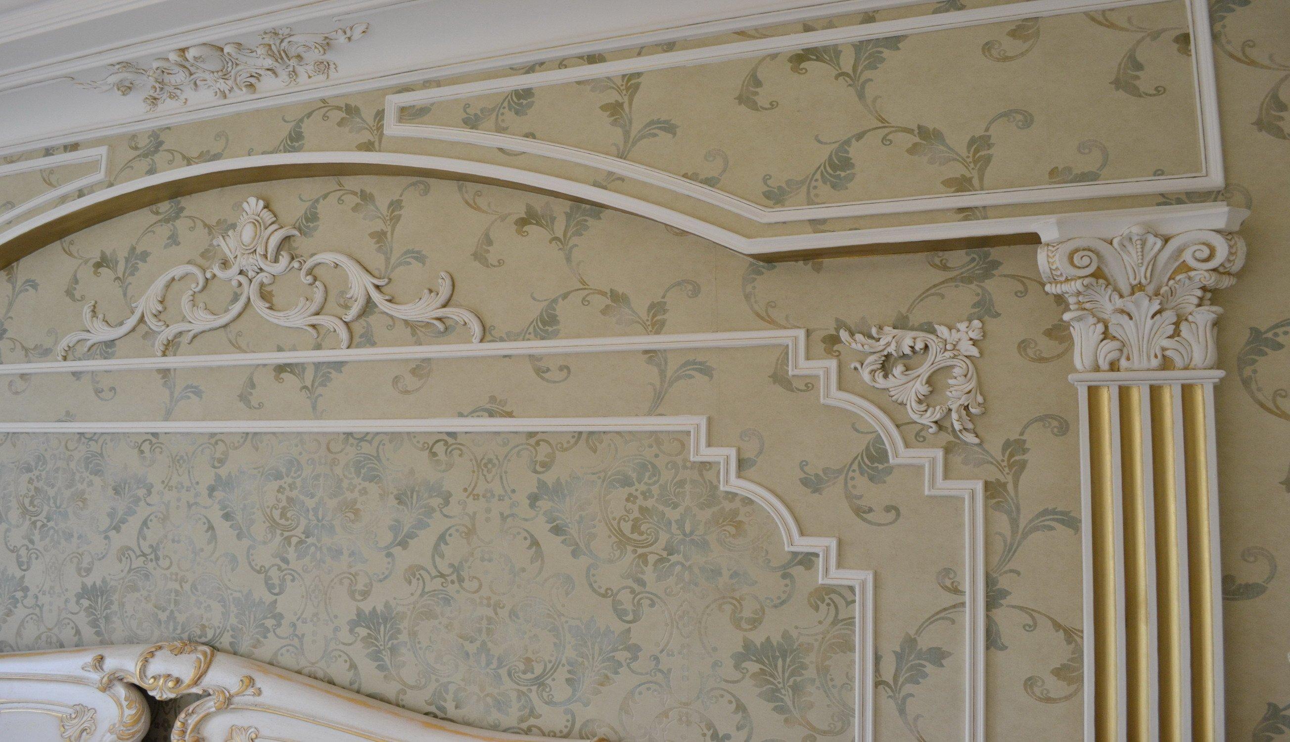 Лепной декор в классическом стиле