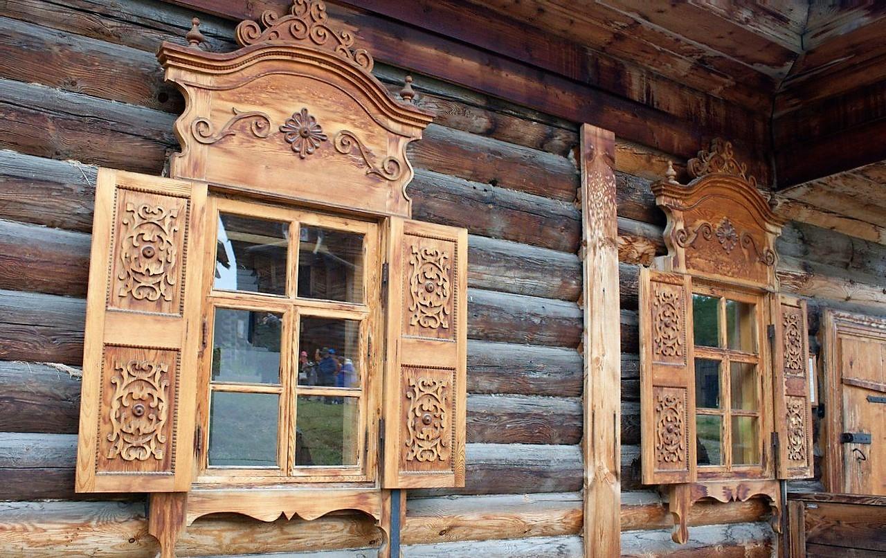 Декор деревянных окон