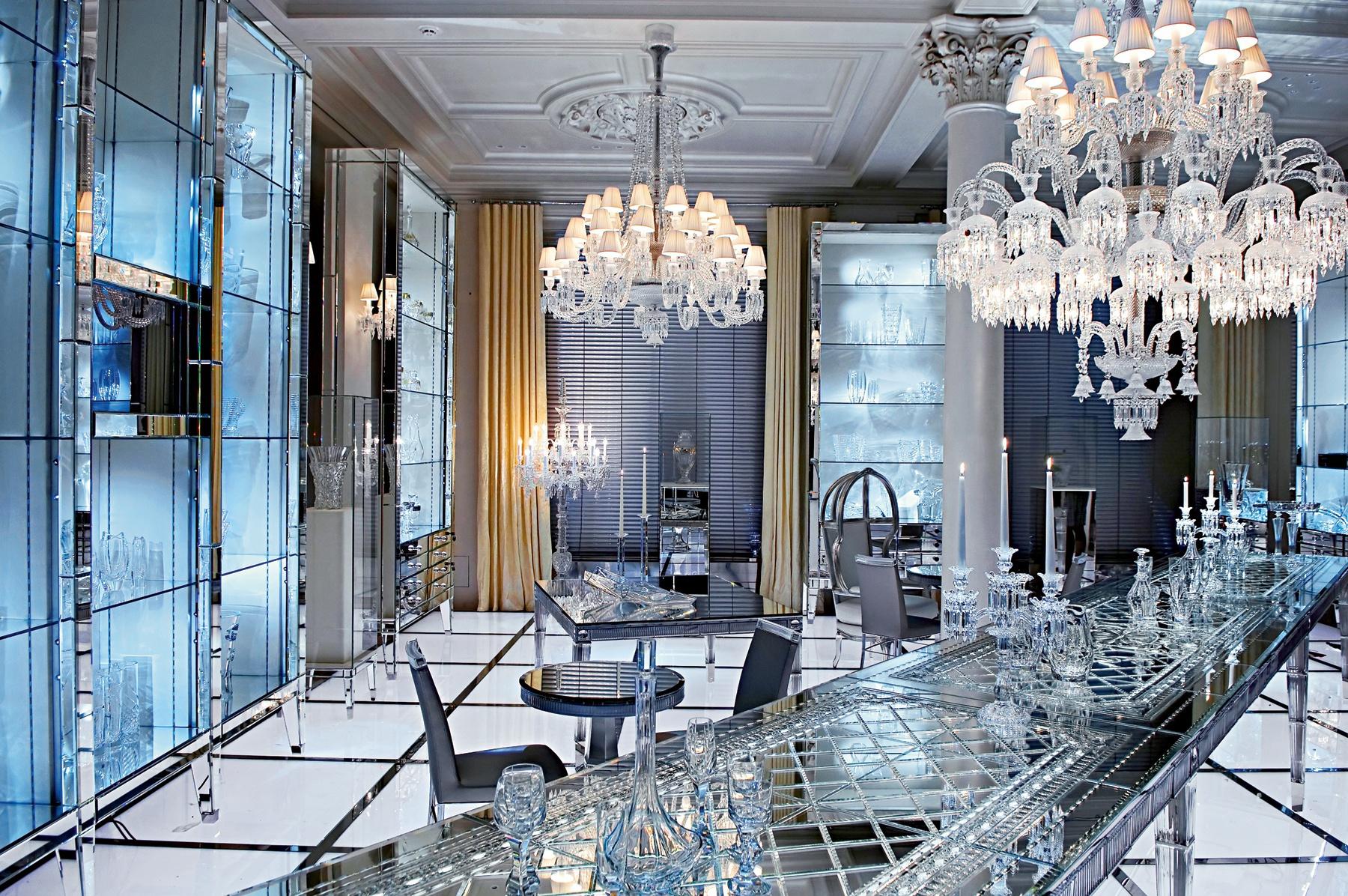 Декор из стекла в интерьере
