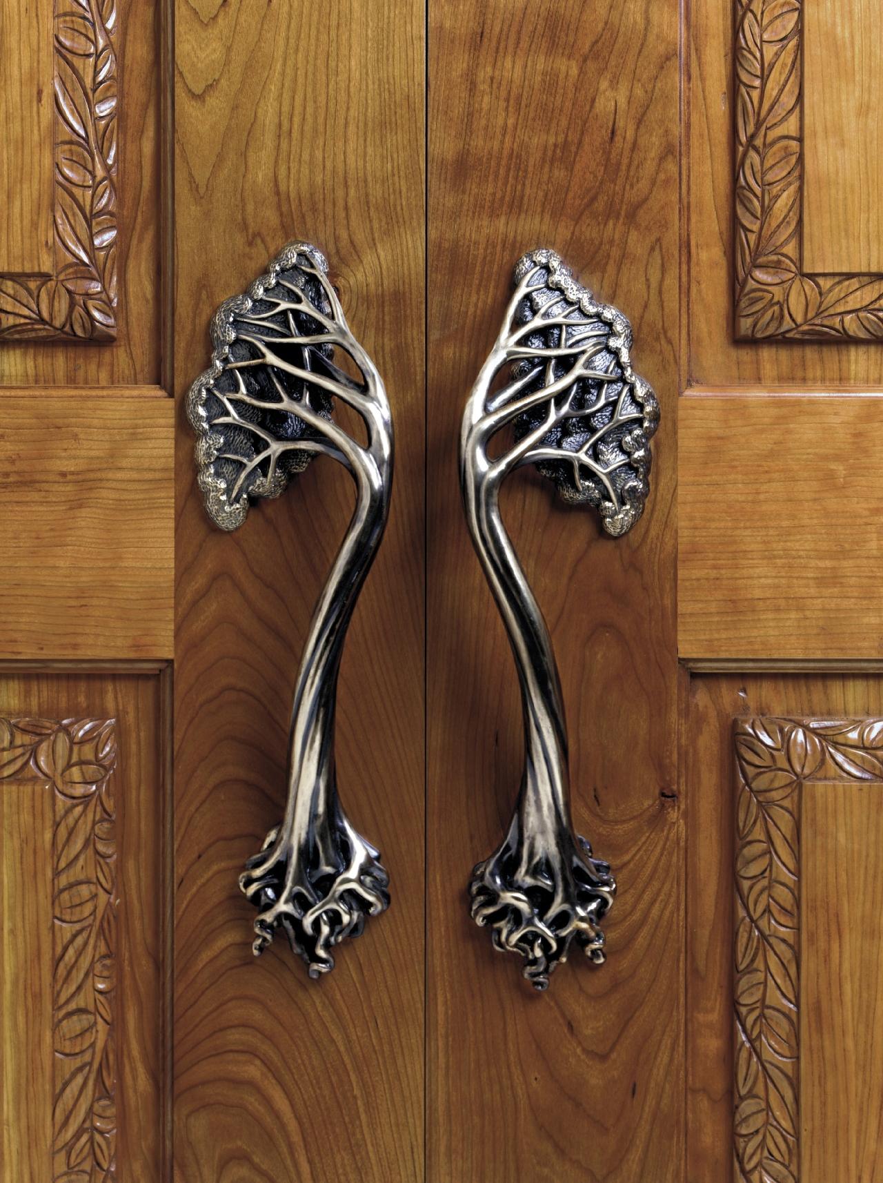 Оригинальный дизайн ручки для двери