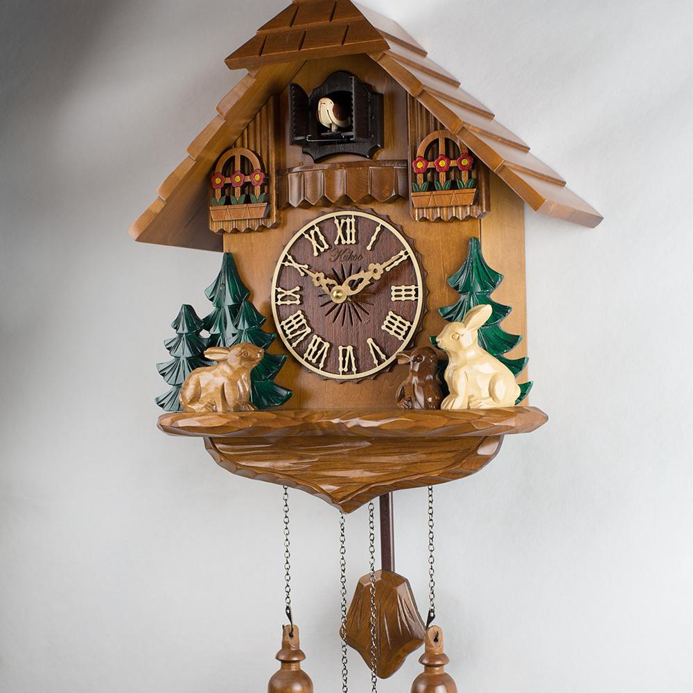 Деревянные часы с кукушкой