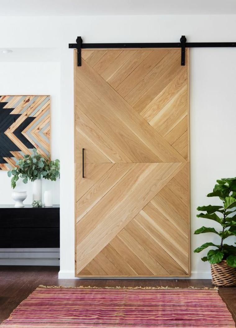 Двери в нишу деревянные