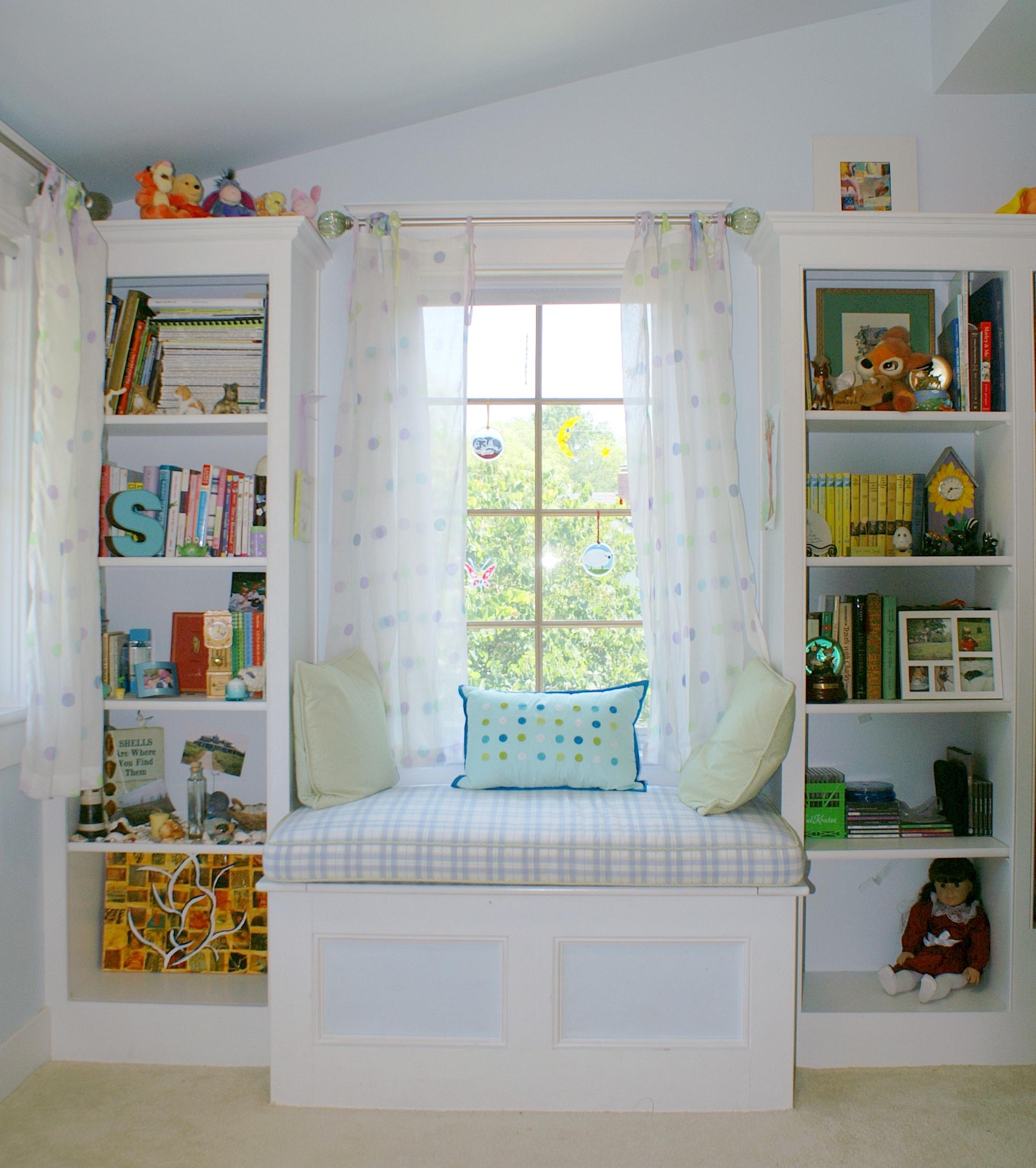 Место для чтения в детской