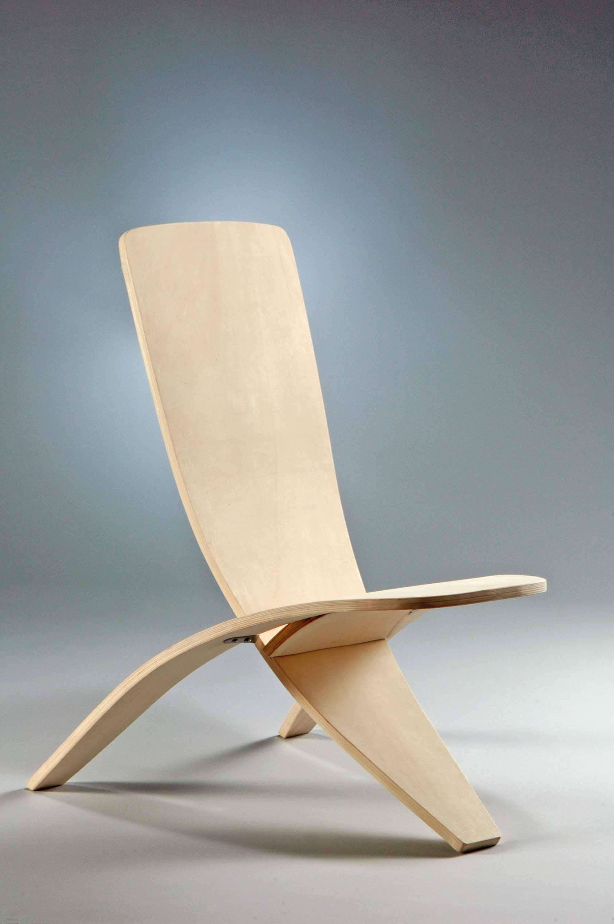 Дизайнерский складной стул