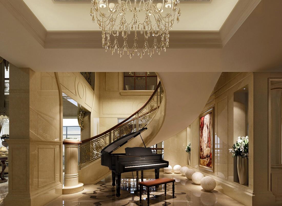 Пианино в интерьере дома