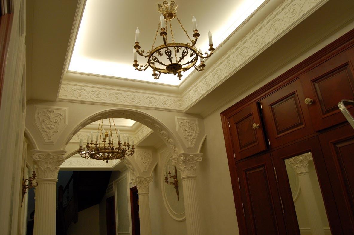 Лепной декор в интерьере дома