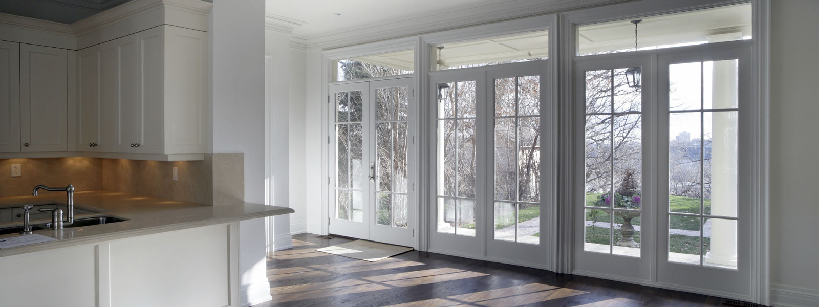 Реставрация окна-двери