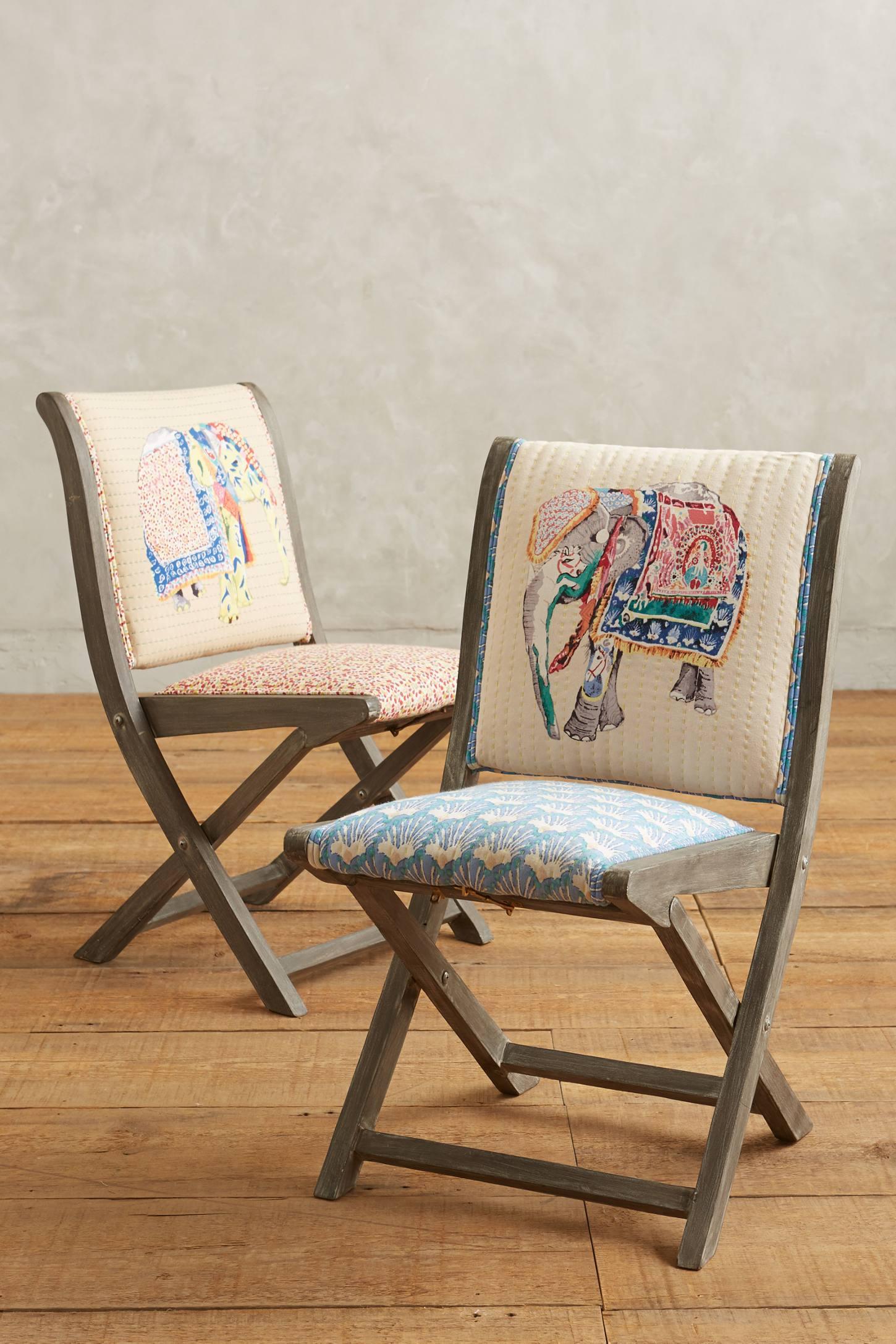 Складные стулья в стиле этно