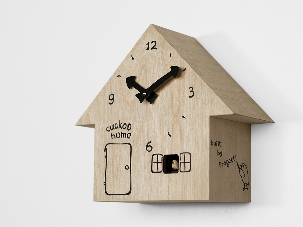 Часы с кукушкой из фанеры