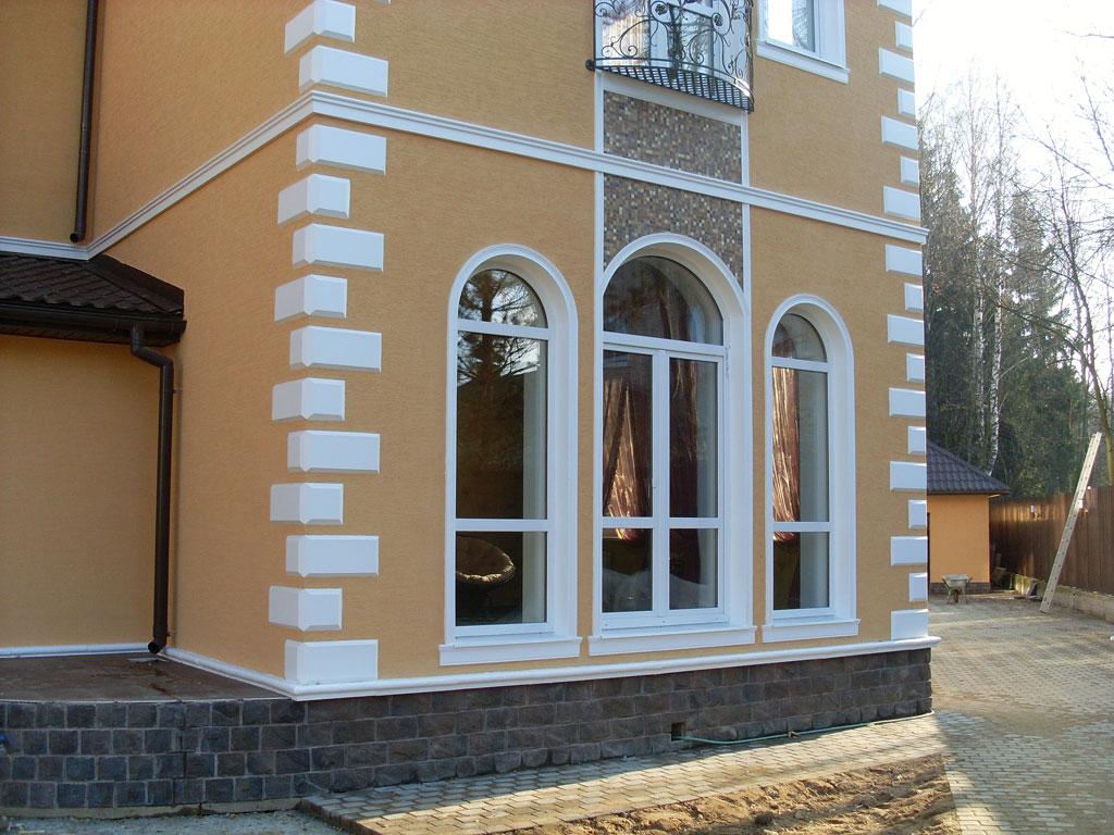 Декор из пенопласта фасадный