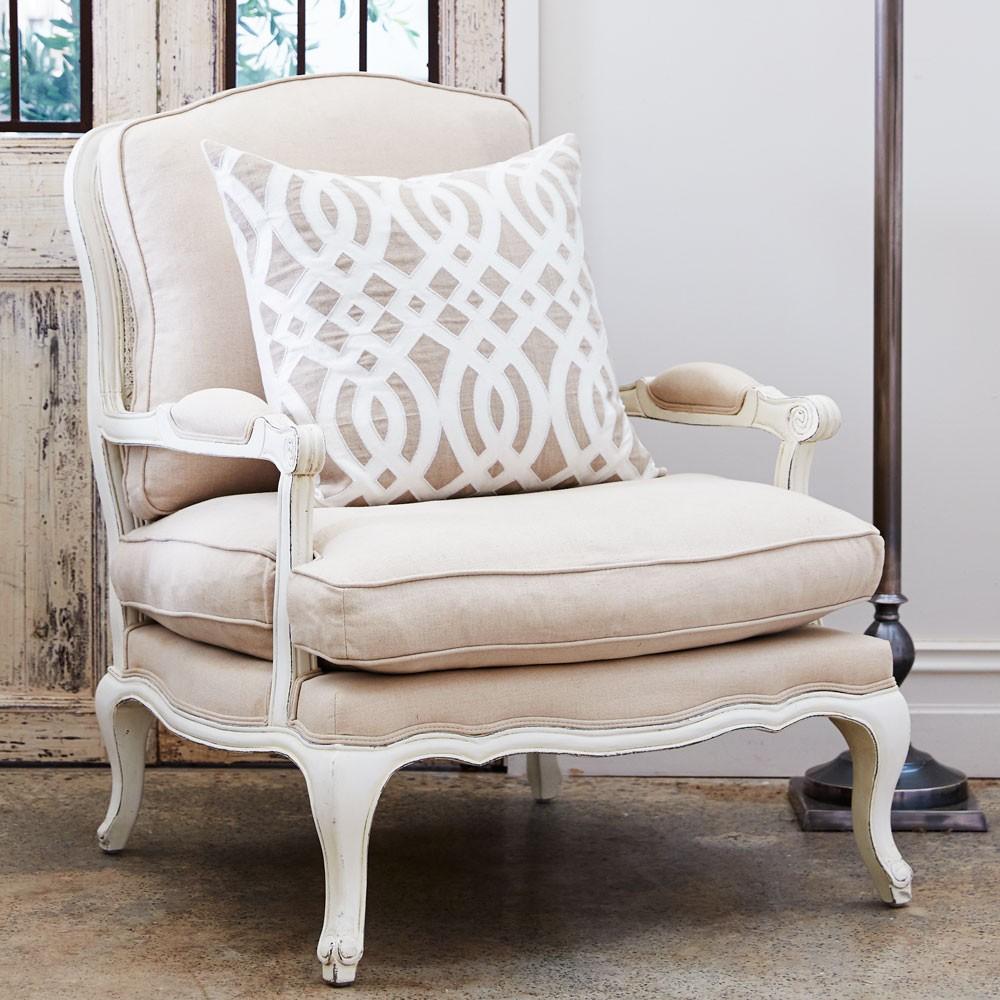 Кресло в стиле французского прованса
