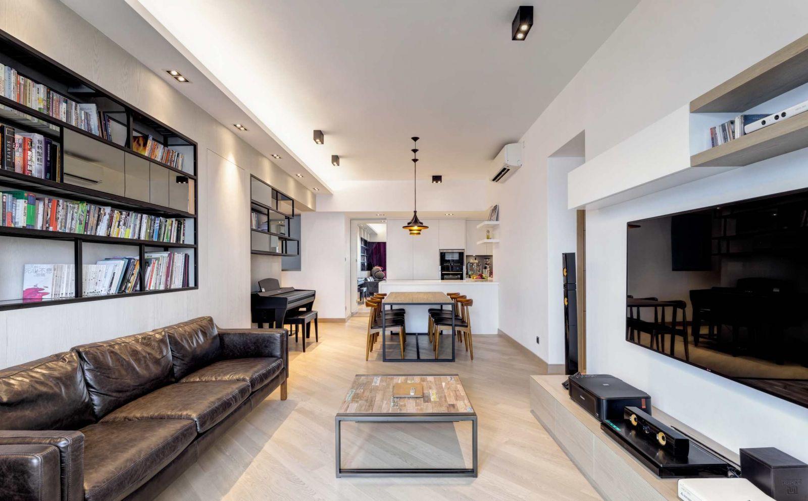 Функциональный дизайн двухкомнатной квартиры